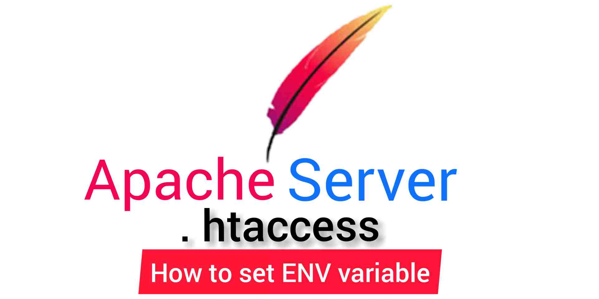 Setting environment variables by htaccess