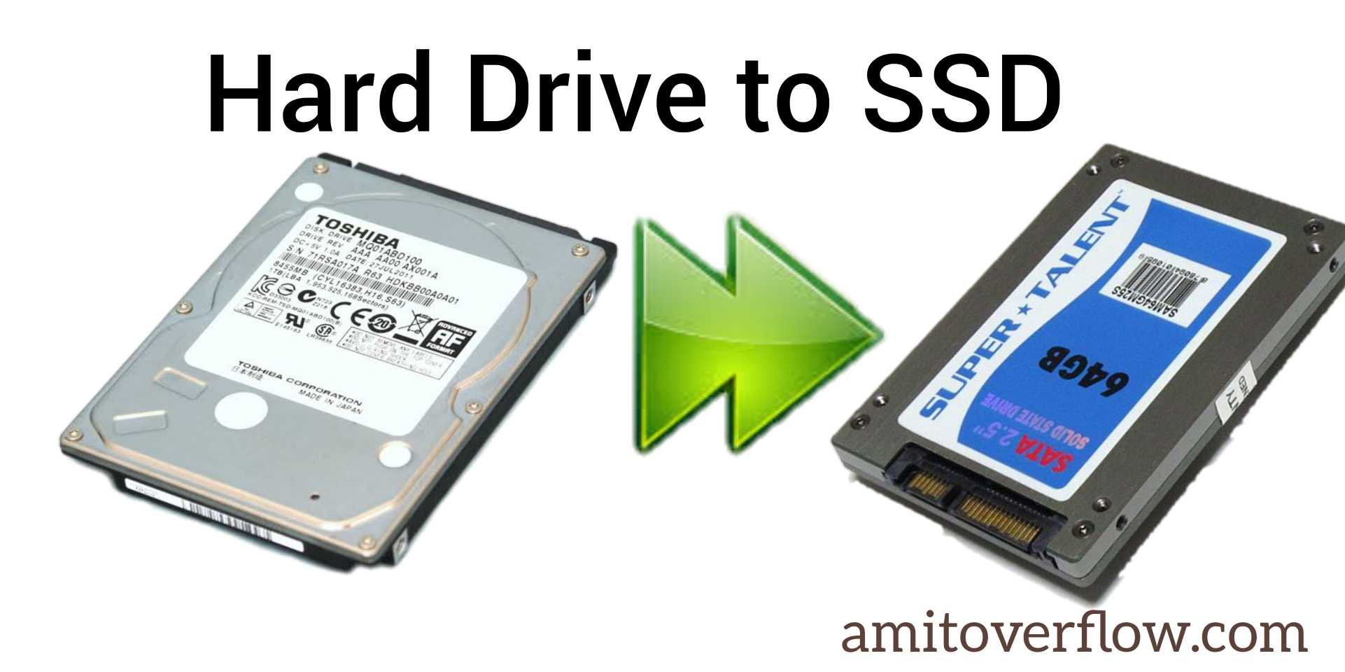 Hard drive to SSD for Android studio