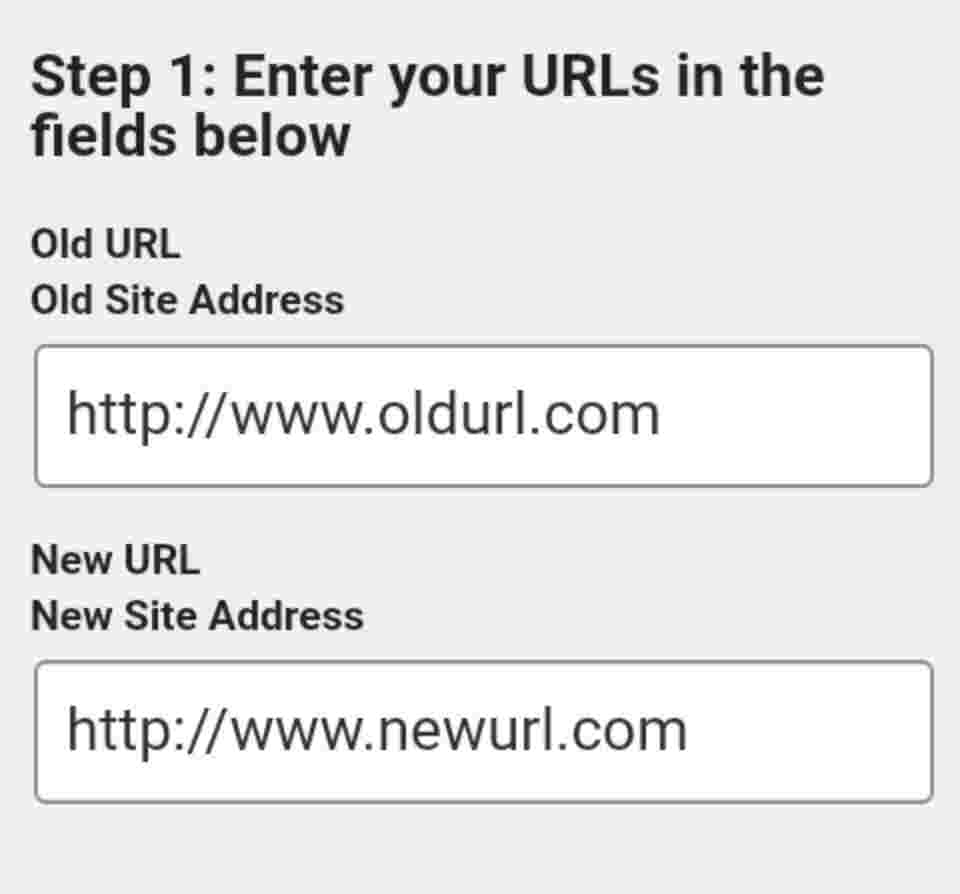 Updated WordPress URLs